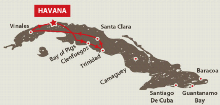 טיול 10 ימים בקובה